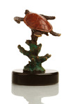 """Fun for One"" Sea Turtle Sculpture"
