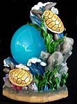 Beautiful Sea Turtles Musical Globe