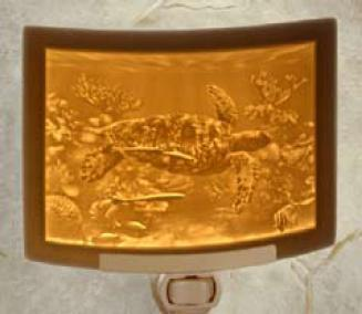Sea Turtle Lithophane Night Light