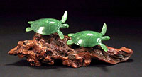Sea Turtle Lovers Sculpture