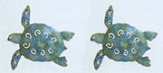 Set of 2 Sea Turtle Magnets
