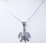 Beautiful Sea Turtle Necklace